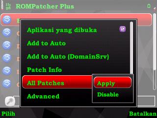 Kumpulan patch e63 dan fungsinya